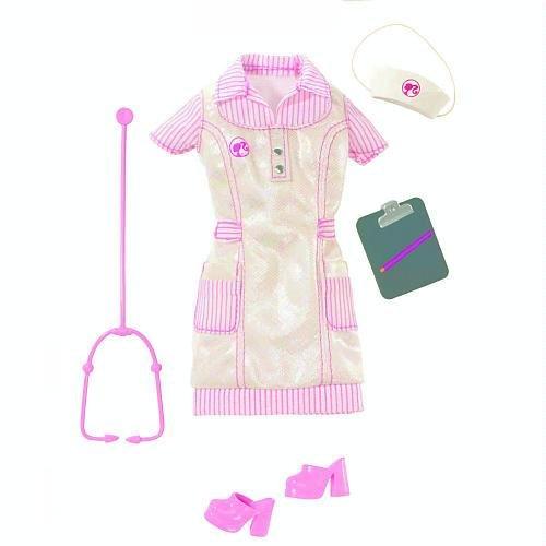 バービー バービー人形 バービーキャリア バービーアイキャンビー 職業 R4259 【送料無料】Barbie Fashion Doll Career Clothes - Nurseバービー バービー人形 バービーキャリア バービーアイキャンビー 職業 R4259