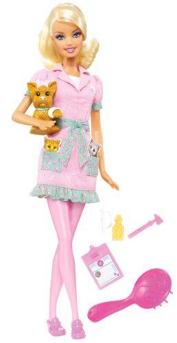【時間指定不可】 バービー バービー人形 バービーキャリア バービーアイキャンビー 職業 職業 R4228 バービー人形 Pet Barbie I Can Be Pet Vet Dollバービー バービー人形 バービーキャリア バービーアイキャンビー 職業 R4228, CRSオンライン:3d54b0b0 --- canoncity.azurewebsites.net