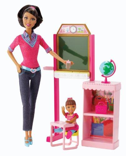 バービー バービー人形 バービーキャリア バービーアイキャンビー 職業 BFR06 【送料無料】Barbie Careers Teacher Doll & Playset, Brunetteバービー バービー人形 バービーキャリア バービーアイキャンビー 職業 BFR06
