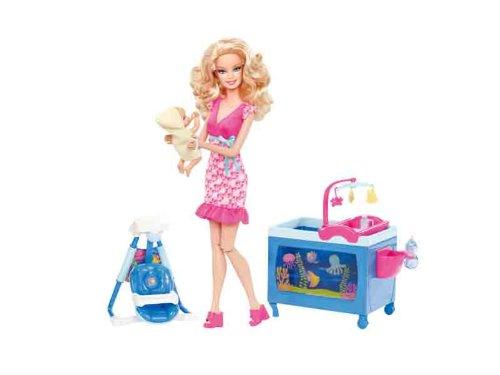 バービー バービー人形 バービーキャリア バービーアイキャンビー 職業 V6934 Barbie I Can Be Baby Caregiver Doll Playsetバービー バービー人形 バービーキャリア バービーアイキャンビー 職業 V6934