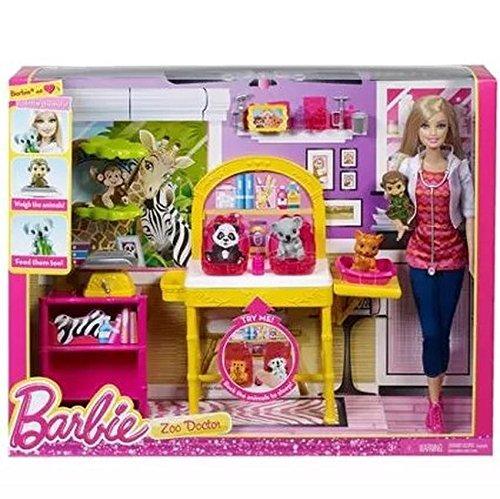 バービー バービー人形 バービーキャリア バービーアイキャンビー 職業 Barbie I Can Be Zoo Doctor Play Setバービー バービー人形 バービーキャリア バービーアイキャンビー 職業