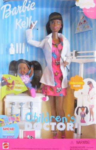 珍しい バービー バービー人形 バービーキャリア バービーアイキャンビー (2000)バービー 職業 29462 BARBIE バービー人形 バービー人形 and KELLY I Can Be... CHILDREN'S DOCTOR Doll AA Pediatrician CAREER SERIES (2000)バービー バービー人形 バービーキャリア バービーアイキャンビー 職業 29462, Fascino:472c5381 --- konecti.dominiotemporario.com
