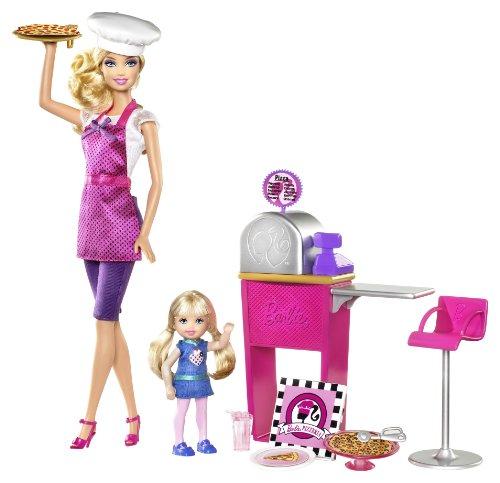 バービー バービー人形 バービーキャリア バービーアイキャンビー 職業 T2694 【送料無料】Barbie I Can Be... Pizza Chef Doll and Playsetバービー バービー人形 バービーキャリア バービーアイキャンビー 職業 T2694