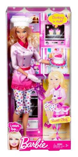 バービー バービー人形 バービーキャリア バービーアイキャンビー 職業 X9078 【送料無料】Barbie I Can Be Sweets Chef Dollバービー バービー人形 バービーキャリア バービーアイキャンビー 職業 X9078