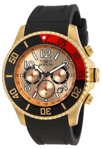 インヴィクタ インビクタ プロダイバー 腕時計 メンズ 15146 Invicta Men's 15146 Pro Diver 18k Gold Ion-Plated Stainless Steel Watch with Black Silicone Bandインヴィクタ インビクタ プロダイバー 腕時計 メンズ 15146