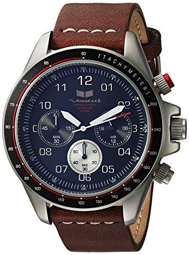 ベスタル ヴェスタル 腕時計 レディース ZR243L20.BRWH 【送料無料】Vestal ZR2 Leather Stainless Steel Japanese-Quartz Watch Strap, Brown, 19.6 (Model: ZR243L20.BRWH)ベスタル ヴェスタル 腕時計 レディース ZR243L20.BRWH