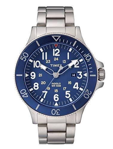タイメックス 腕時計 メンズ 【送料無料】Timex Allied Coastline Blue Dial Stainless Steel Men's Watch TW2R46000タイメックス 腕時計 メンズ