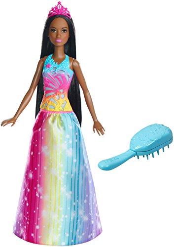 バービー バービー人形 ファンタジー 人魚 マーメイド FRB13 Barbie Dreamtopia Rainbow Cove Brush 'n Sparkle Princess, Brunetteバービー バービー人形 ファンタジー 人魚 マーメイド FRB13