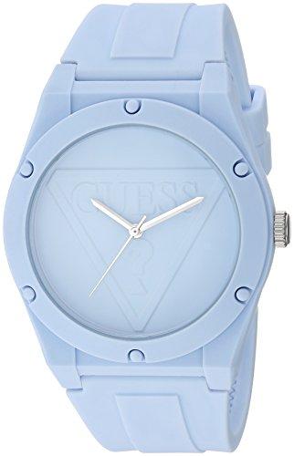 ゲス GUESS 腕時計 レディース U0979L6 【送料無料】GUESS Quartz Rubber and Silicone Casual Watch, Color:Light Blue (Model: U0979L6)ゲス GUESS 腕時計 レディース U0979L6