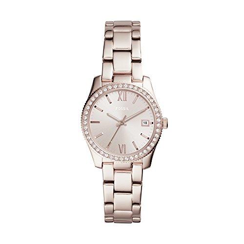 フォッシル 腕時計 レディース ES4363 Fossil Women's Scarlette Quartz Watch with Stainless-Steel Strap, Pink, 16 (Model: ES4363)フォッシル 腕時計 レディース ES4363