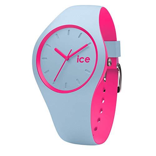 アイスウォッチ 腕時計 メンズ かわいい Ice Duo Blue pink Ice-Watch 001499 Ice Duo Blue Silicone Strap Watchアイスウォッチ 腕時計 メンズ かわいい Ice Duo Blue pink