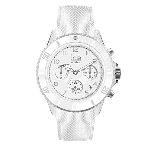 アイスウォッチ 腕時計 メンズ かわいい 夏の腕時計特集 014223 【送料無料】Ice-Watch - ICE Dune White - Men's Wristwatch with Silicon Strap - Chrono - 014223 (Extra Large)アイスウォッチ 腕時計 メンズ かわいい 夏の腕時計特集 014223
