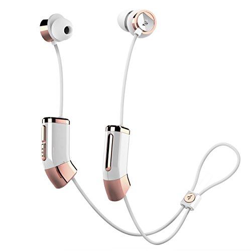海外輸入ヘッドホン ヘッドフォン イヤホン 海外 輸入 ZB26WRG Zipbuds 26 Bluetooth Wireless Custom Fit in-Ear Headphones: HD Stereo Sound Waterproof Sweatproof 15-Hour Supercharged Battery (Whit海外輸入ヘッドホン ヘッドフォン イヤホン 海外 輸入 ZB26WRG