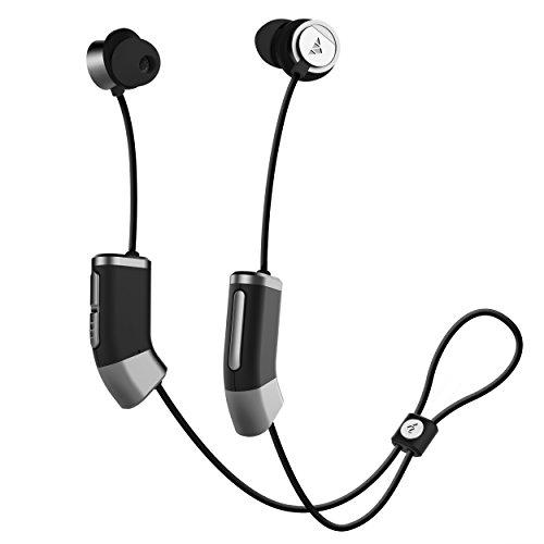 海外輸入ヘッドホン ヘッドフォン イヤホン 海外 輸入 ZB26BSG Zipbuds 26 Bluetooth Wireless Custom Fit in-Ear Headphones: HD Stereo Sound Waterproof Sweatproof 15-Hour Supercharged Battery (Blac海外輸入ヘッドホン ヘッドフォン イヤホン 海外 輸入 ZB26BSG