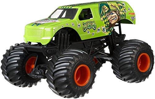 ホットウィール マテル ミニカー ホットウイール DWP16 【送料無料】Hot Wheels Monster Jam Jester Vehicle, Greenホットウィール マテル ミニカー ホットウイール DWP16