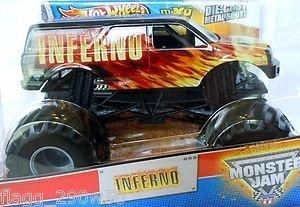 ホットウィール マテル ミニカー ホットウイール 【送料無料】Hot Wheels Monster Jam Truck Inferno 1:24 Diecast Truckホットウィール マテル ミニカー ホットウイール