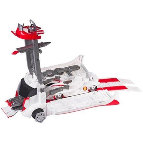 ホットウィール マテル ミニカー ホットウイール M4210 【送料無料】HOT WHEELS Speed Racer Mach 6 and Battle Rigホットウィール マテル ミニカー ホットウイール M4210
