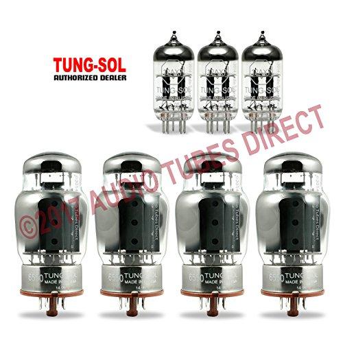 真空管 ギター・ベース アンプ 海外 輸入 6550/12AX7 Tung-Sol Tube Upgrade Kit for Ampeg V-5 Amps 6550/12AX7真空管 ギター・ベース アンプ 海外 輸入 6550/12AX7