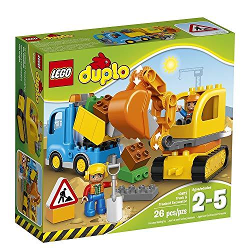 レゴ デュプロ LEGO DUPLO Town Truck & Tracked Excavator 10812, Best Gift for 1-4Year-Oldsレゴ デュプロ