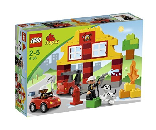 レゴ デュプロ 6138 LEGO DUPLO My First Fire Station Kids Firefighter Playset w/ 2 Figures | 6138レゴ デュプロ 6138