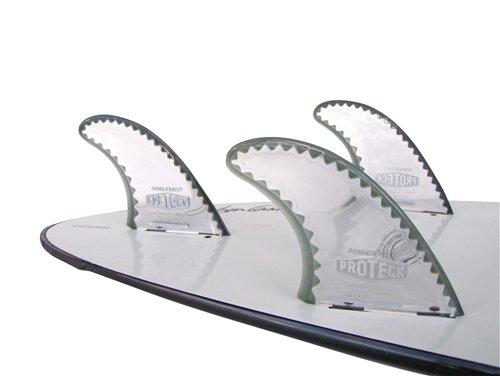 """サーフィン フィン マリンスポーツ SurfCo - Pro Teck 4.25"""" Power Flex Fin Thruster Set - FCS (set of 3 fins)サーフィン フィン マリンスポーツ"""