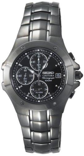 """セイコー 腕時計 メンズ SNAC41 【送料無料】Seiko Men""""s SNAC41 Coutura Alarm Chronograph Watchセイコー 腕時計 メンズ SNAC41"""