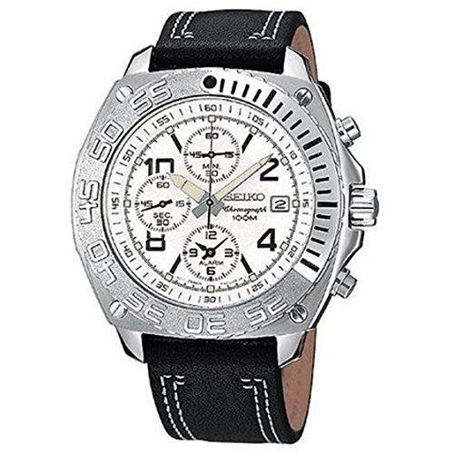 セイコー 腕時計 メンズ SNAZ21 【送料無料】Seiko Men's Alarm Chronographセイコー 腕時計 メンズ SNAZ21