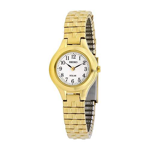 セイコー 腕時計 レディース SUP102 【送料無料】Seiko Women's SUP102 Stainless Steel Analog White Dial Watchセイコー 腕時計 レディース SUP102