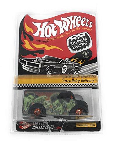 ホットウィール マテル ミニカー ホットウイール 【送料無料】Hot Wheels HWC Halloween Exclusive Scary Dairy Delivery Limited Edition Redline Club 1:64 Scale Collectibleホットウィール マテル ミニカー ホットウイール