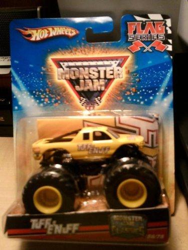 ホットウィール マテル ミニカー ホットウイール 【送料無料】Hot Wheels Monster Jam Classics Tuff Enuff Flag Series 1:64 Scale Truck #56/75ホットウィール マテル ミニカー ホットウイール