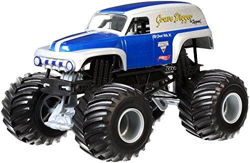 ホットウィール マテル ミニカー ホットウイール CGD67 Hot Wheels Monster Jam 1:24 Scale Grave Digger the Legend Vehicleホットウィール マテル ミニカー ホットウイール CGD67