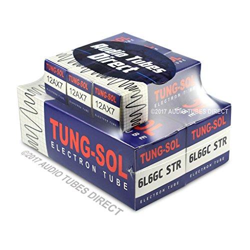 真空管 ギター・ベース アンプ 海外 輸入 6L6GCSTR 12AX7 Tung-Sol Tube Upgrade Kit For Peavey ValveKing 50 watt Combo Amps 6L6GCSTR 12AX7真空管 ギター・ベース アンプ 海外 輸入 6L6GCSTR 12AX7