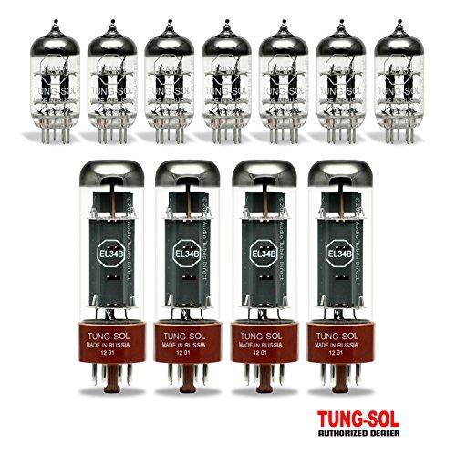 真空管 ギター・ベース アンプ 海外 輸入 EL34B 12AX7 Tung-Sol Tube Upgrade Kit For Marshall 6100 & 6101 Amps EL34B/12AX7真空管 ギター・ベース アンプ 海外 輸入 EL34B 12AX7
