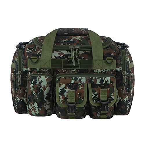 ミリタリーバックパック タクティカルバックパック サバイバルゲーム サバゲー アメリカ RTDC818 East West U.S.A Tactical Multi Pockets Heavy Duty Duffel Bag, Camo/Gミリタリーバックパック タクティカルバックパック サバイバルゲーム サバゲー アメリカ RTDC818