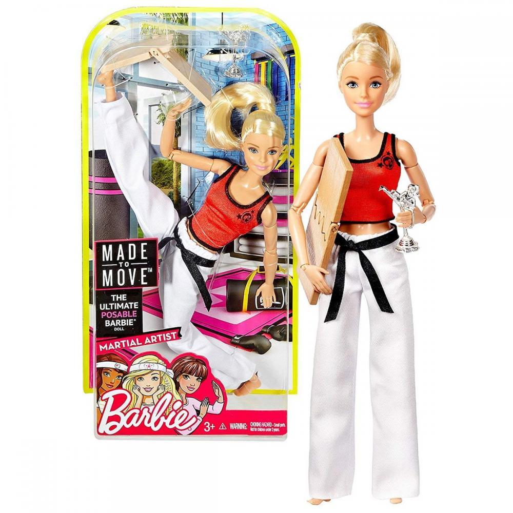 【新発売】 バービー バービー人形 Breaking メイドトゥームーブ 関節 動く Mattel Year 2016 Barbie Barbie 12 Made to Move Series 12 Inch Doll - MARTIAL ARTIST BARBIE (DWN39) with Breaking Board and Trophyバービー バービー人形 メイドトゥームーブ 関節 動く, はあどる:05018668 --- konecti.dominiotemporario.com