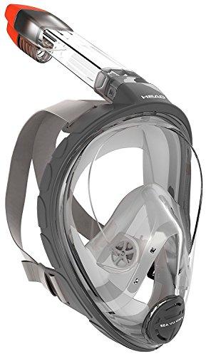 シュノーケリング マリンスポーツ Mares Head Sea Vu Dry Full Face Snorkeling Mask Small/medium USED LIKE NEW OPEN BOX Snorkel Diveシュノーケリング マリンスポーツ