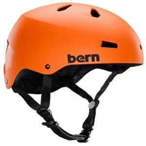 ウォーターヘルメット 安全 マリンスポーツ サーフィン ウェイクボード Bern 2016 Men's Macon Summer H2O Water Sports Helmet w/Brock Foam (Orange - M)ウォーターヘルメット 安全 マリンスポーツ サーフィン ウェイクボード