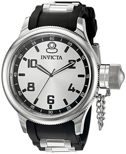 インヴィクタ インビクタ 腕時計 メンズ 1435SYB 【送料無料】Invicta Men's 1435SYB Russian Diver Analog Display Swiss Quartz Black Watchインヴィクタ インビクタ 腕時計 メンズ 1435SYB