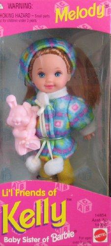 バービー バービー人形 チェルシー スキッパー ステイシー 14906 【送料無料】Barbie - Li'l Friends of Kelly - Melody Doll - 1995バービー バービー人形 チェルシー スキッパー ステイシー 14906