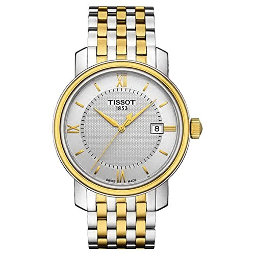 ティソ 腕時計 メンズ T0974102203800 【送料無料】Tissot T097.410.22.038.00 Mens BRIDGEPORT Two-Tone Swiss Made Watch w/ Dateティソ 腕時計 メンズ T0974102203800