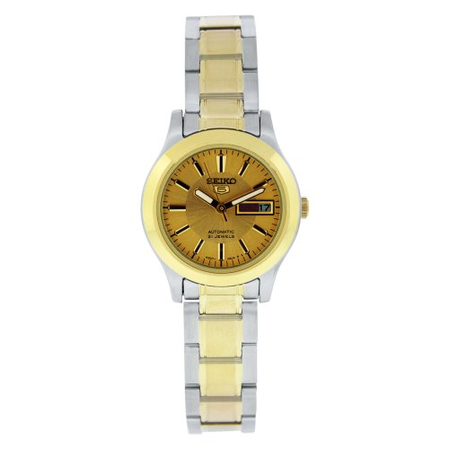 セイコー 腕時計 レディース SYMD92 【送料無料】Sieko Women's SYMD92 Two Tone Stainless Steel Analog with Gold Dial Watchセイコー 腕時計 レディース SYMD92