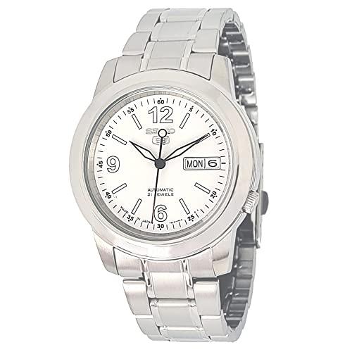 腕時計 セイコー メンズ SNKE57 【送料無料】Seiko Men's SNKE57 Stainless Steel Analog with White Dial Watch腕時計 セイコー メンズ SNKE57