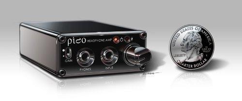 海外輸入ヘッドホン ヘッドフォン イヤホン 海外 輸入 Pico DAC/Amp Black Headamp Pico USB DAC(Digital Analog Converter)/Amp Portable Headphone Amp Black海外輸入ヘッドホン ヘッドフォン イヤホン 海外 輸入 Pico DAC/Amp Black