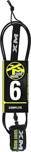 サーフィン リーシュコード マリンスポーツ 【送料無料】XM Complite Surf Leash Black 6'サーフィン リーシュコード マリンスポーツ