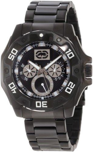 腕時計 タイメックス メンズ E8M077MV 【送料無料】Rhino by Marc Ecko Men's E8M077MV Power Play Three Eye Multifunction Street Sport Watch腕時計 タイメックス メンズ E8M077MV