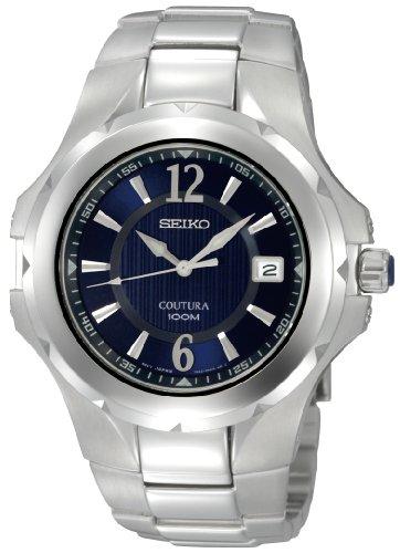 セイコー 腕時計 メンズ SGEE67 【送料無料】Seiko Men's SGEE67 Coutura Silver-Tone Blue Dial Watchセイコー 腕時計 メンズ SGEE67
