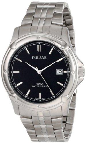 パルサー SEIKO セイコー 腕時計 メンズ PXH847X Seiko Men's PXH847X Pulsar Black Dial Watchパルサー SEIKO セイコー 腕時計 メンズ PXH847X