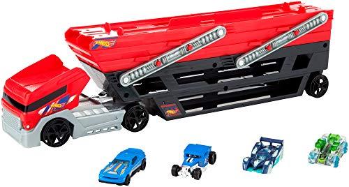 ホットウィール マテル ミニカー ホットウイール FPM81 【送料無料】Hot Wheels Mega Hauler and 4 Cars Setホットウィール マテル ミニカー ホットウイール FPM81
