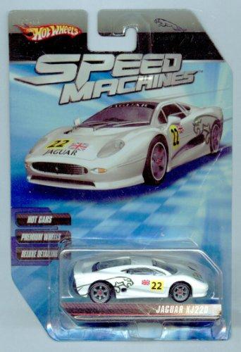 ホットウィール マテル ミニカー ホットウイール 【送料無料】Hot Wheels Speed Machines Jaguar XJ220 WHITE 1:64 Scaleホットウィール マテル ミニカー ホットウイール
