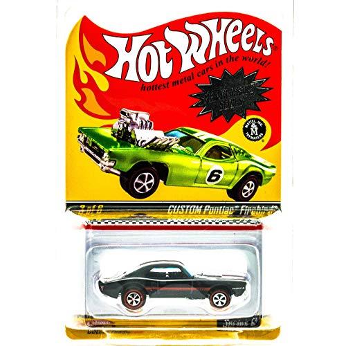 ホットウィール マテル ミニカー ホットウイール Hot Wheels Neo-Classics Series 6 Custom Pontiac Firebird Spectraflame Black 3/6ホットウィール マテル ミニカー ホットウイール
